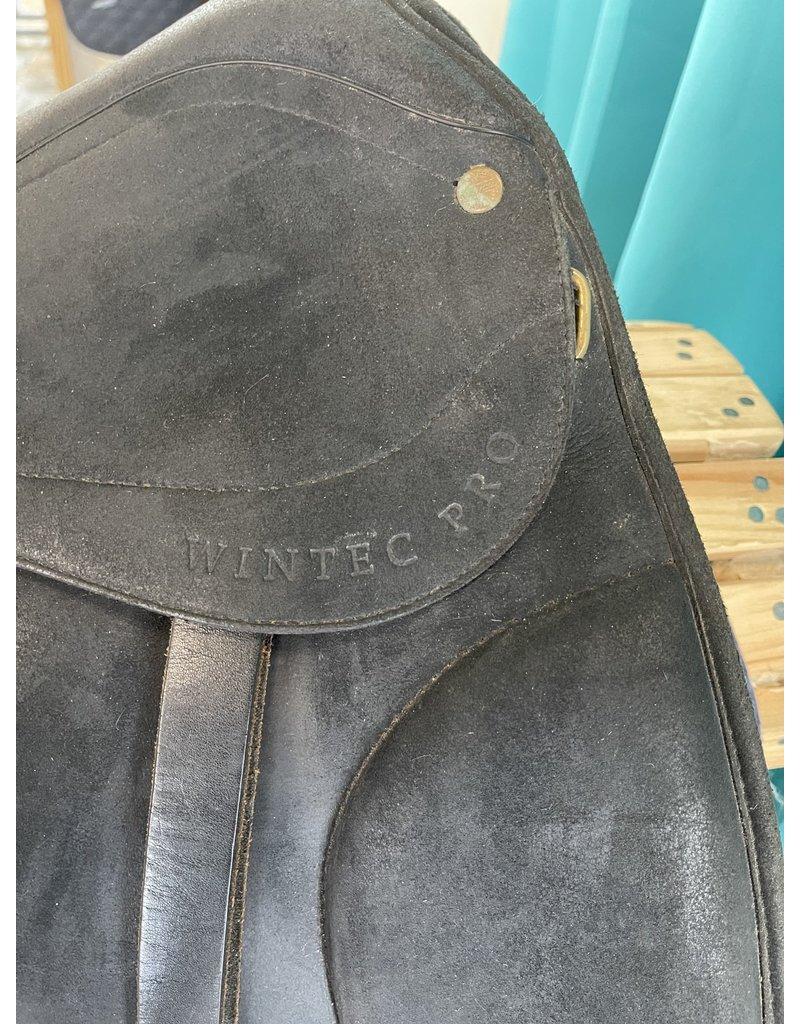 "Wintec Wintec Dressage Saddle 18"" Black"