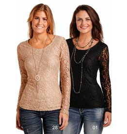 Panhandle Long Sleeve Knit Top