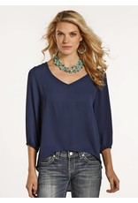 Rock and Roll Cowgirl RRCG 3/4 Sleeve Blouse