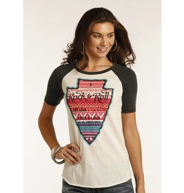 Rock and Roll Cowgirl HALF SLEEVE TEE