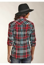 Rock and Roll Cowgirl Long Sleeve Snap Pattern