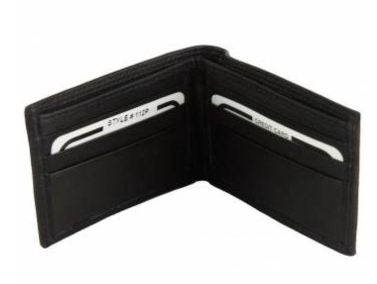 VinetteRose VRB: MATTEO - Men's Italian Wallet - Black