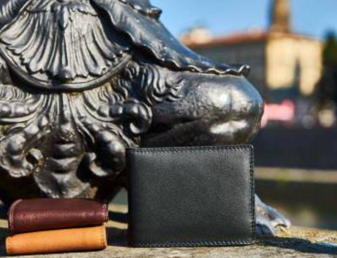 VinetteRose VRB: MATTEO - Men's Italian Wallet - Dark Blue