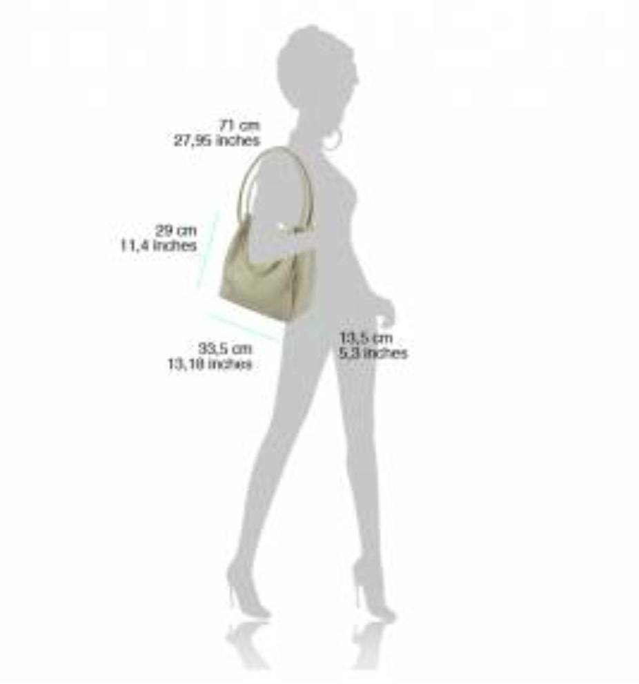 VinetteRose VRB: Sonia -  Leather Shoulder Tote