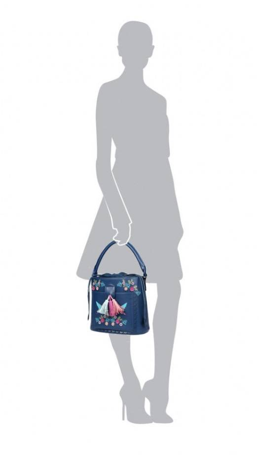Vendula VENDULA: Cuckoo  Clock Bucket Bag