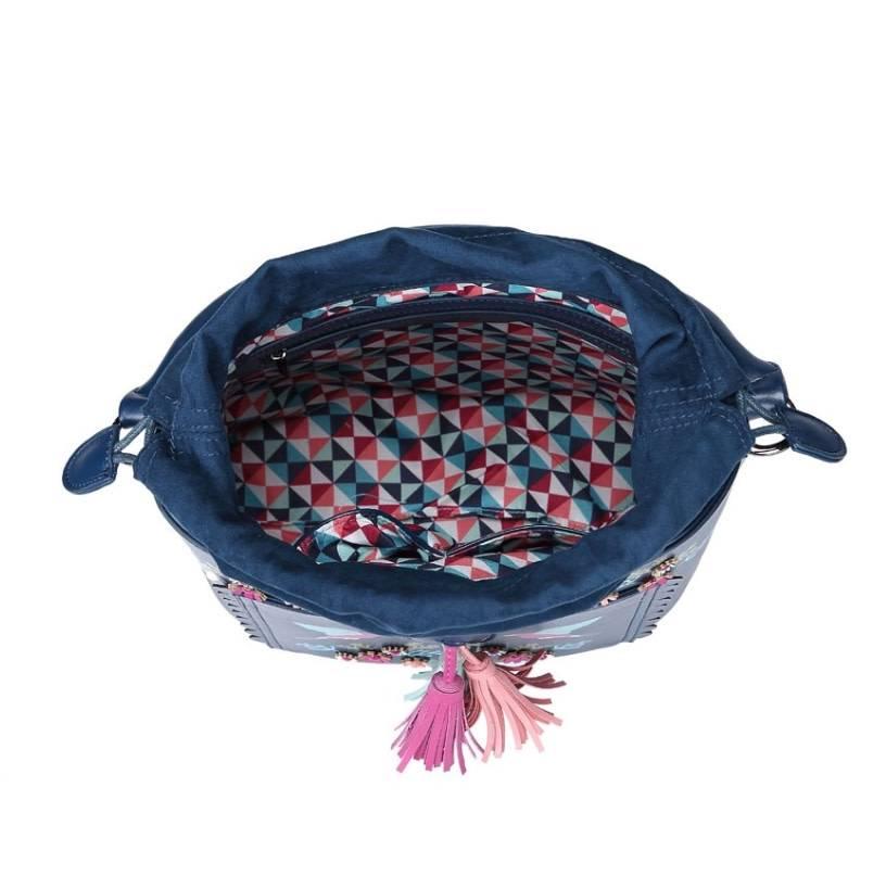 Vendula VENDULA: Cuckoo  Clock Bucket Bag
