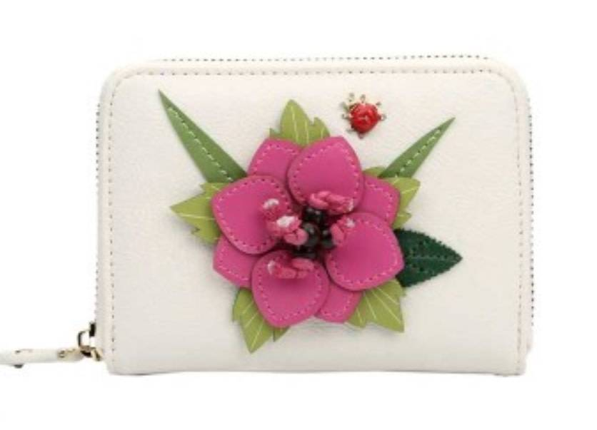 Vendula VENDULA:  English Garden Sm. Zip around Wallet