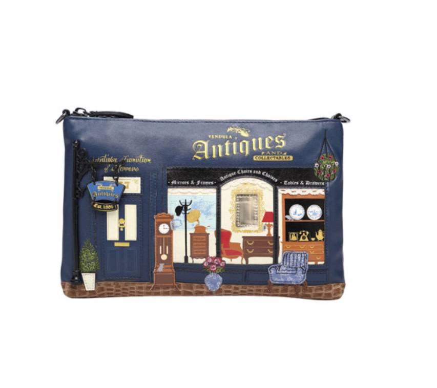 Vendula VENDULA: Antiques Shop Crossbody/Pouch Bag