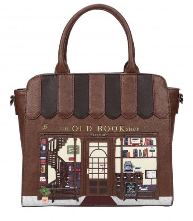 Vendula VENDULA: Old Book Shop  - Tote Bag