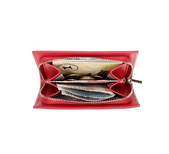 Vendula VENDULA: Books Shaped Coin Purse - Red