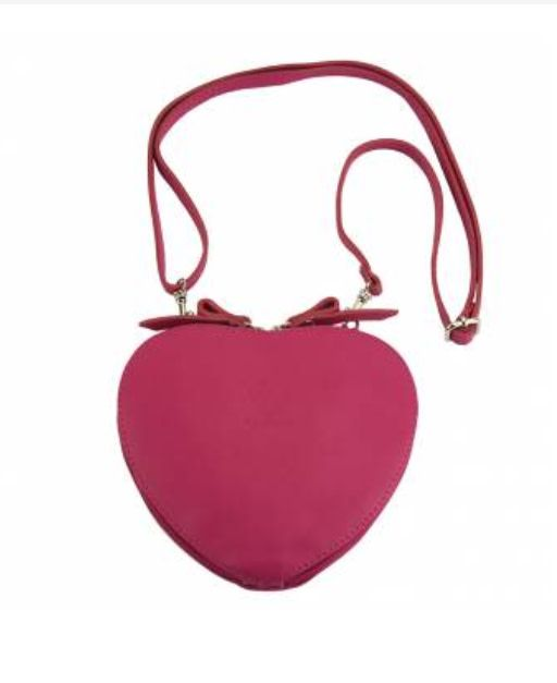 VinetteRose VRB: Sienna - Love Crossbody - Fuschia