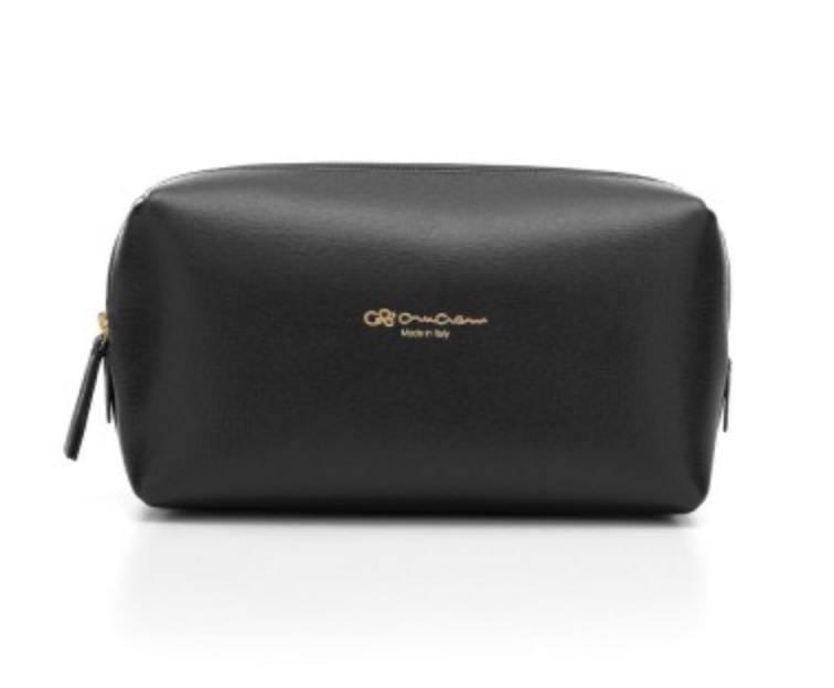 Cruciani CRUCIANI: Travel/Vanity Bag - (LG) - Black