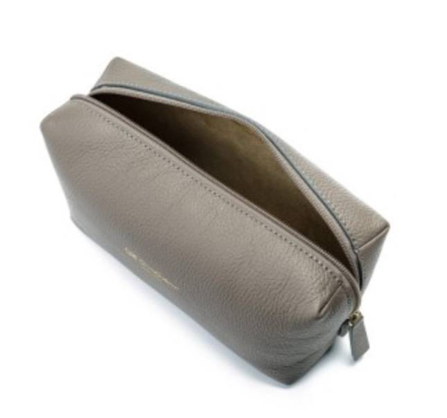 Cruciani CRUCIANI: Travel/Vanity Bag - (Med)  - Dove Gray