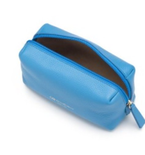 Cruciani CRUCIANI: Travel/Vanity Bag - (Med) - Capri Blue