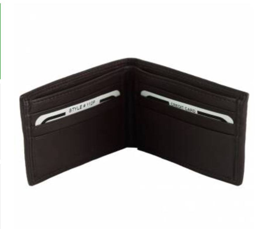 VinetteRose VRB: MATTEO - Men's Italian Wallet - Dark Brown