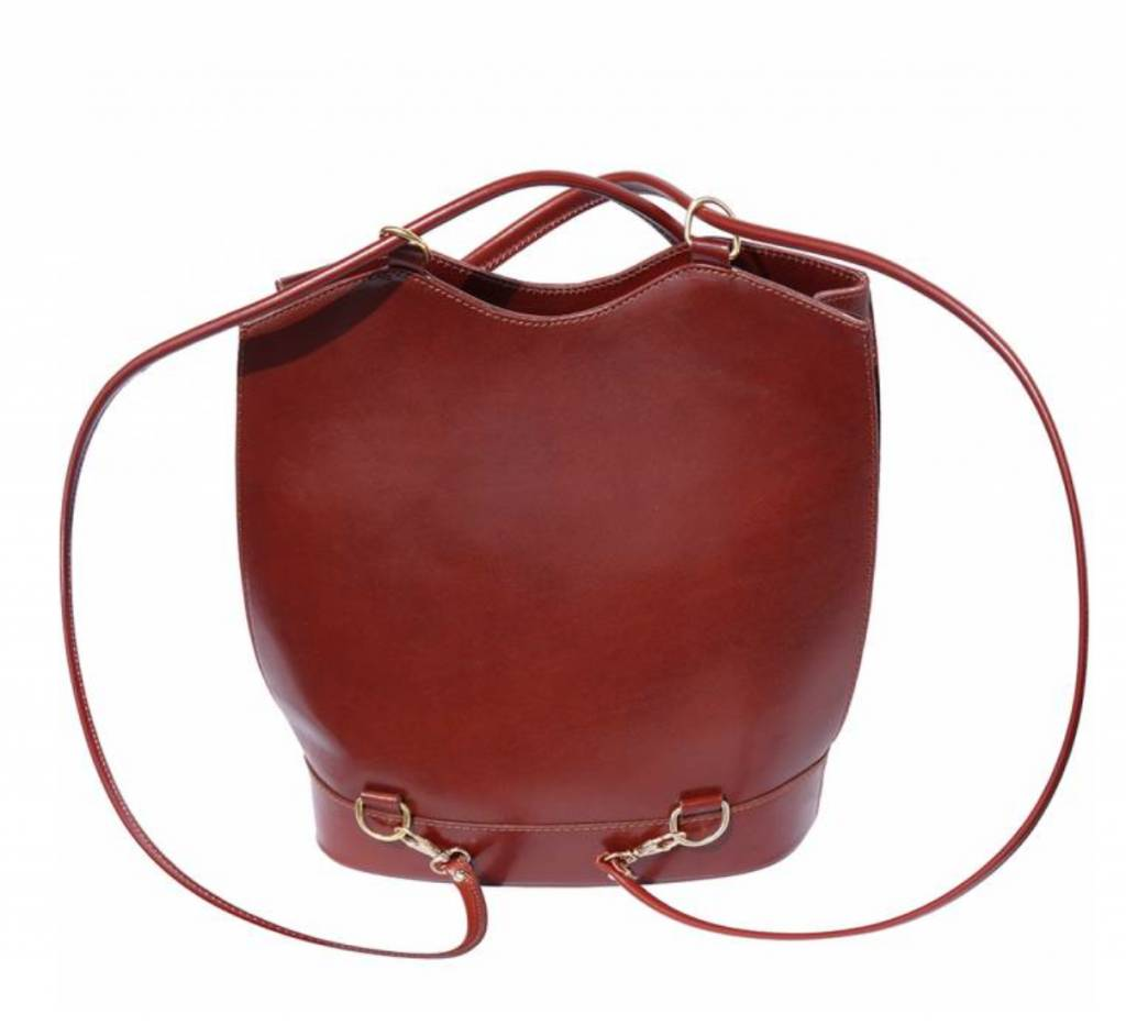 VinetteRose VRB: GINA - Convertible Backpack - Brown