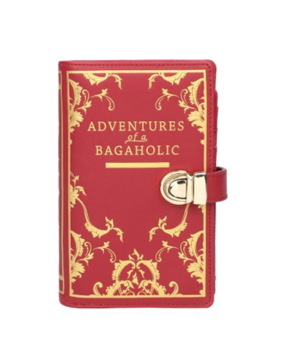 Vendula VENDULA: Books Shaped Wallet - Red
