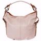 VinetteRose VRB: Tallia - Leather Embossed Shoulder Bag -Rosa