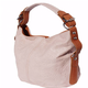 VinetteRose VRB: Talia - Leather Embossed Shoulder Bag -Rosa