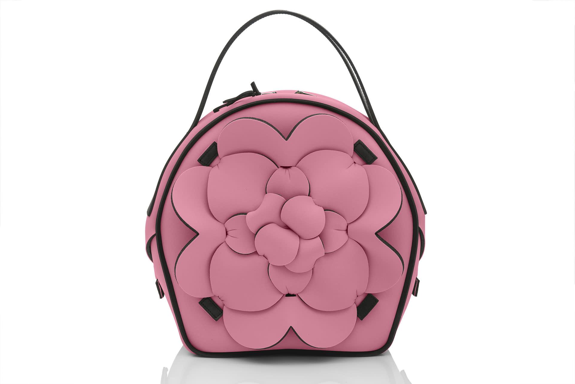 HYMY AP: NEOPRENE Handbag - Pink (LG)