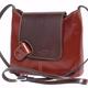 VinetteRose VRB: LIZ- Patent Shoulder Bag - Brown