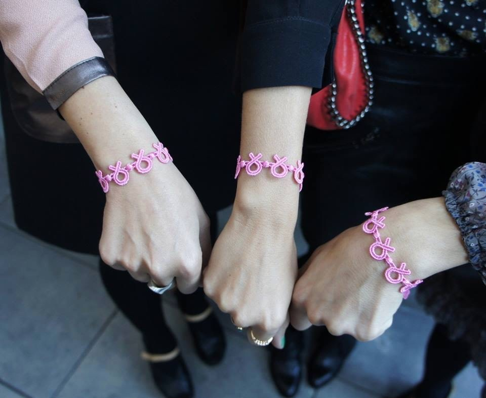 Cruciani CRUCIANI: Bracelet - Breast Cancer - Pink