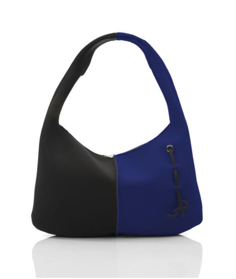 AP (Art Pelle) AP: Neoprene Sacca - Cobalt Blue/Black
