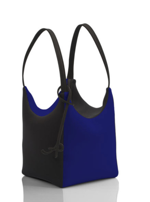 AP: Neoprene - Sacca Square - SM (Blue/Black)