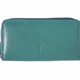 VinetteRose VRB: Turquoise-Ziparound Accordion Wallet