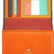 VRB-Orange/Brown Flap Wallet