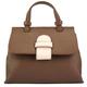 VinetteRose VRB: TESS - Leather Handbag - Brown