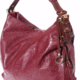 VinetteRose VRB: GIANNA - Embossed Leather - Burgundy/Brown