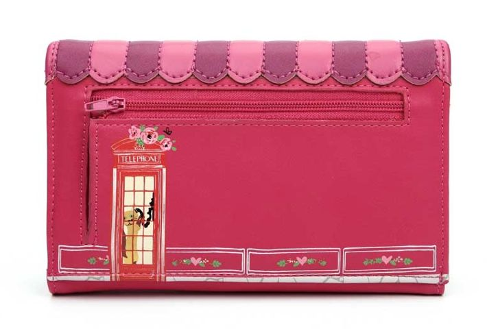 Vendula Cherry Biscuit Shop Fit All Wallet