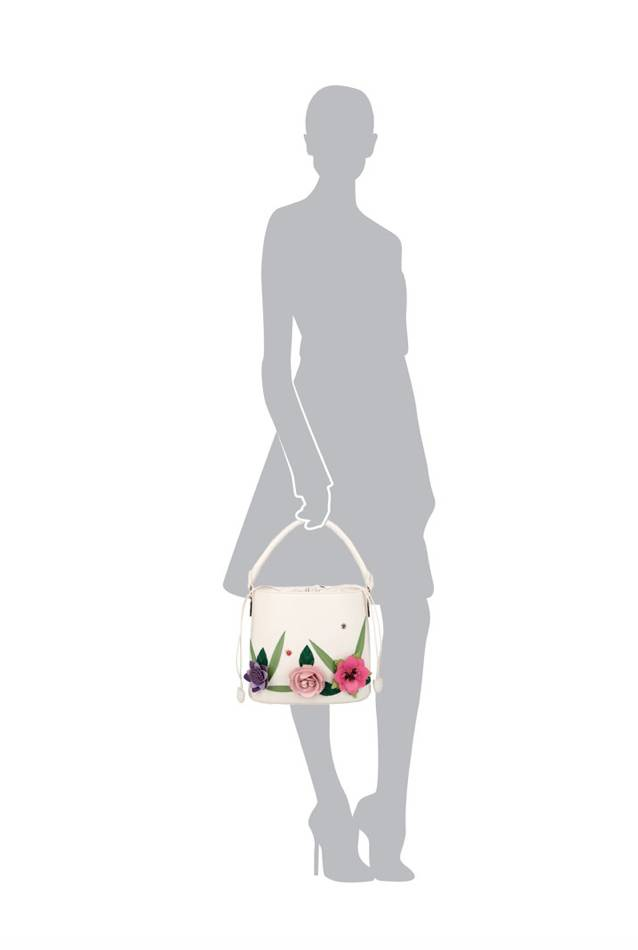 Vendula English Garden Bucket Bag