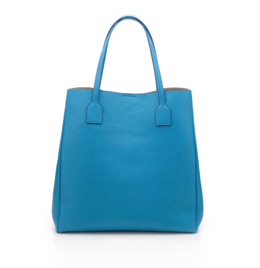 Cruciani Calfskin Shopper Bag