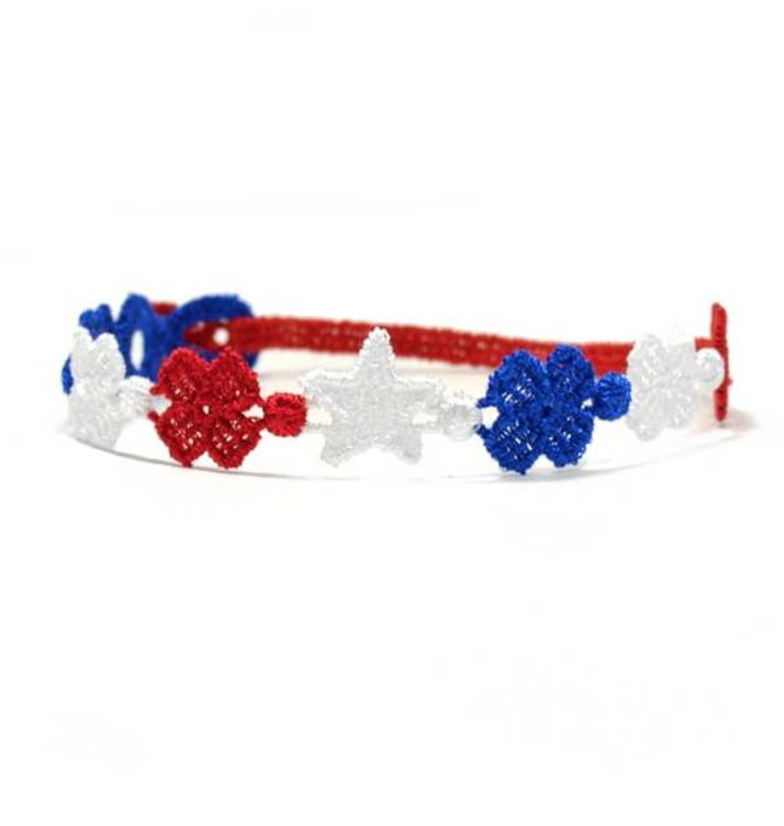 Cruciani American Flag Bracelet