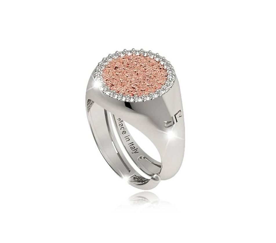 Rebecca Bronze Disc Ring