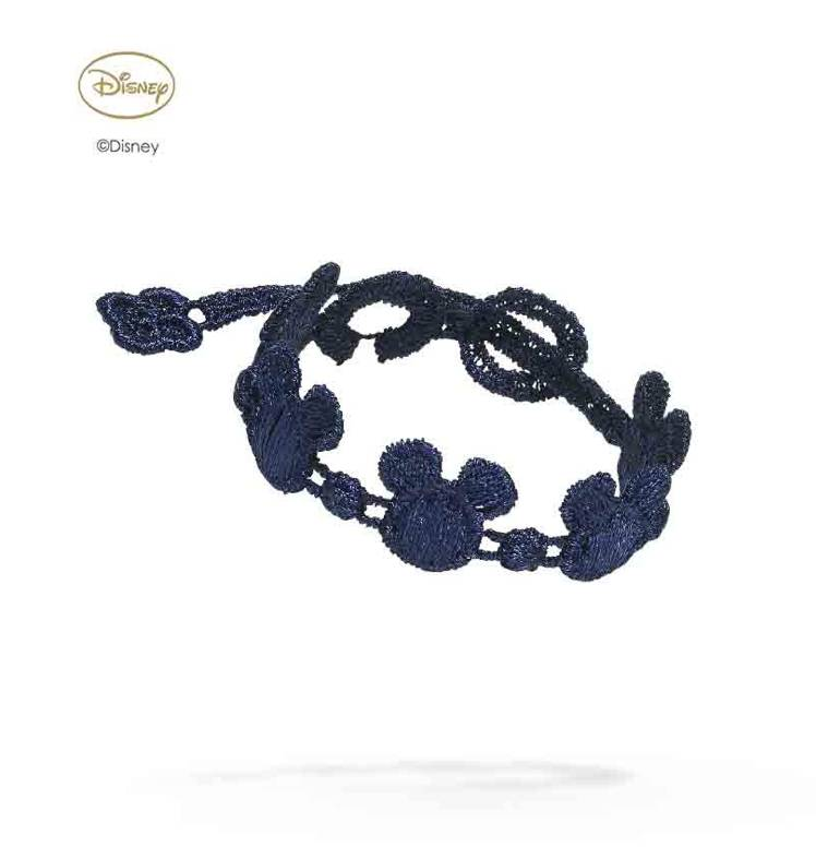 Cruciani Navy Blue Kids Mickey Mouse Bracelet