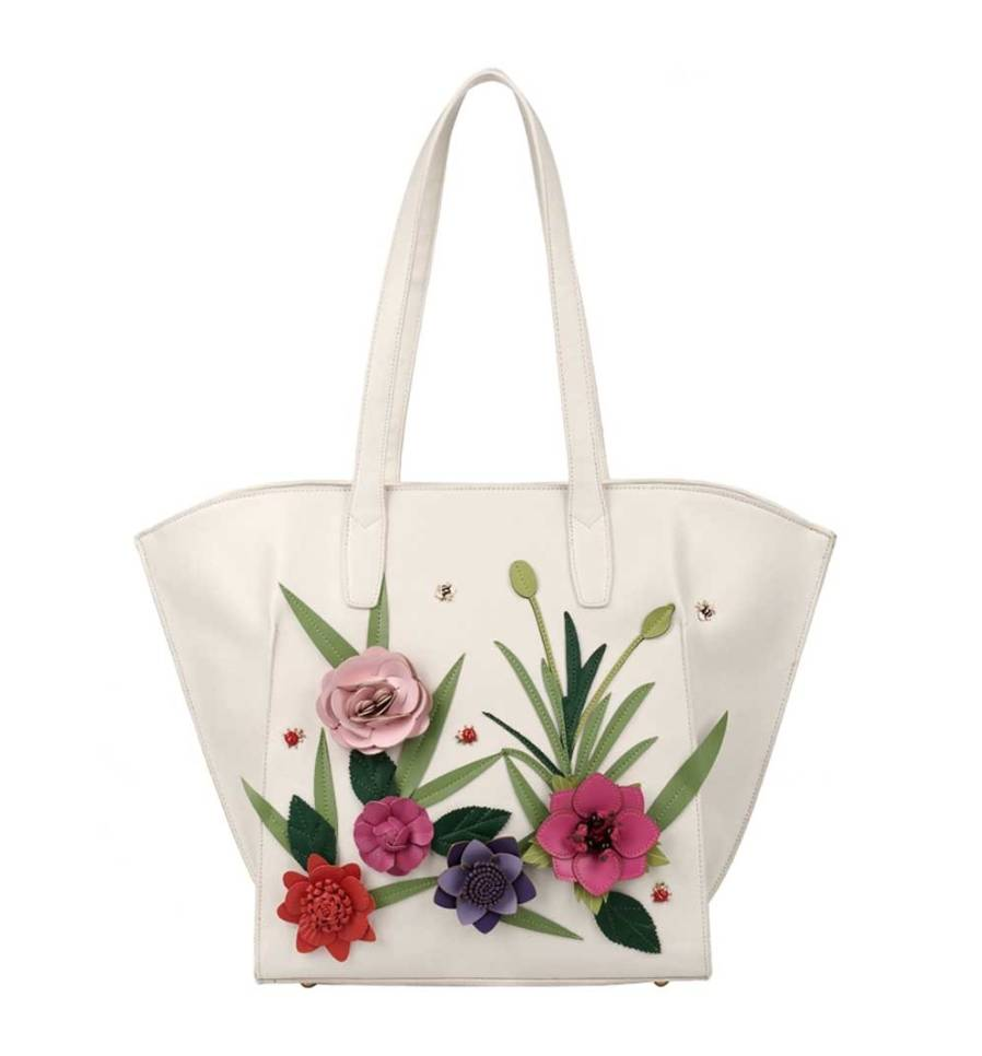 Vendula English Garden Shopper Tote