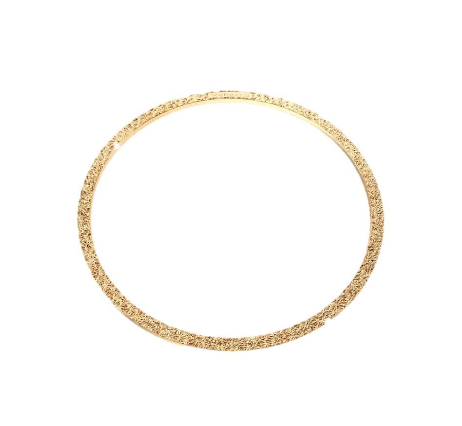 Rebecca Gold Bangle Bracelet