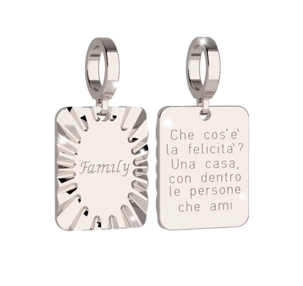 Rebecca Silver Family Charm