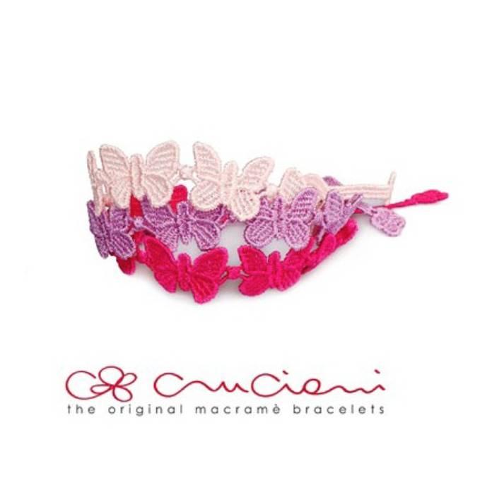 Cruciani CRUCIANI: Bracelet - KIDS - Butterfly - Fuschia