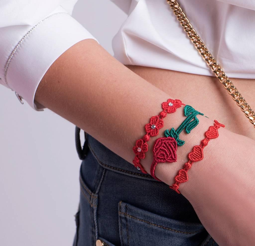 Cruciani Rose Bicolor Bracelet
