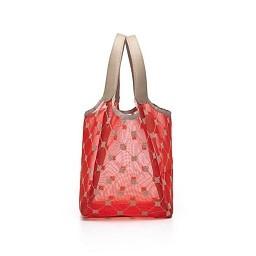 Cruciani Milano City Large Tulle Bag