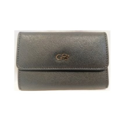 Cruciani Card Holder,  Dove Gray
