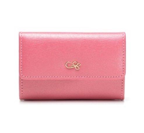 Cruciani Card Holder,  Pink