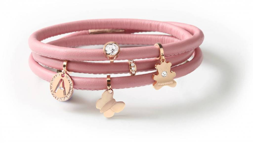 Rebecca Butterfly Charm, Rose Gold