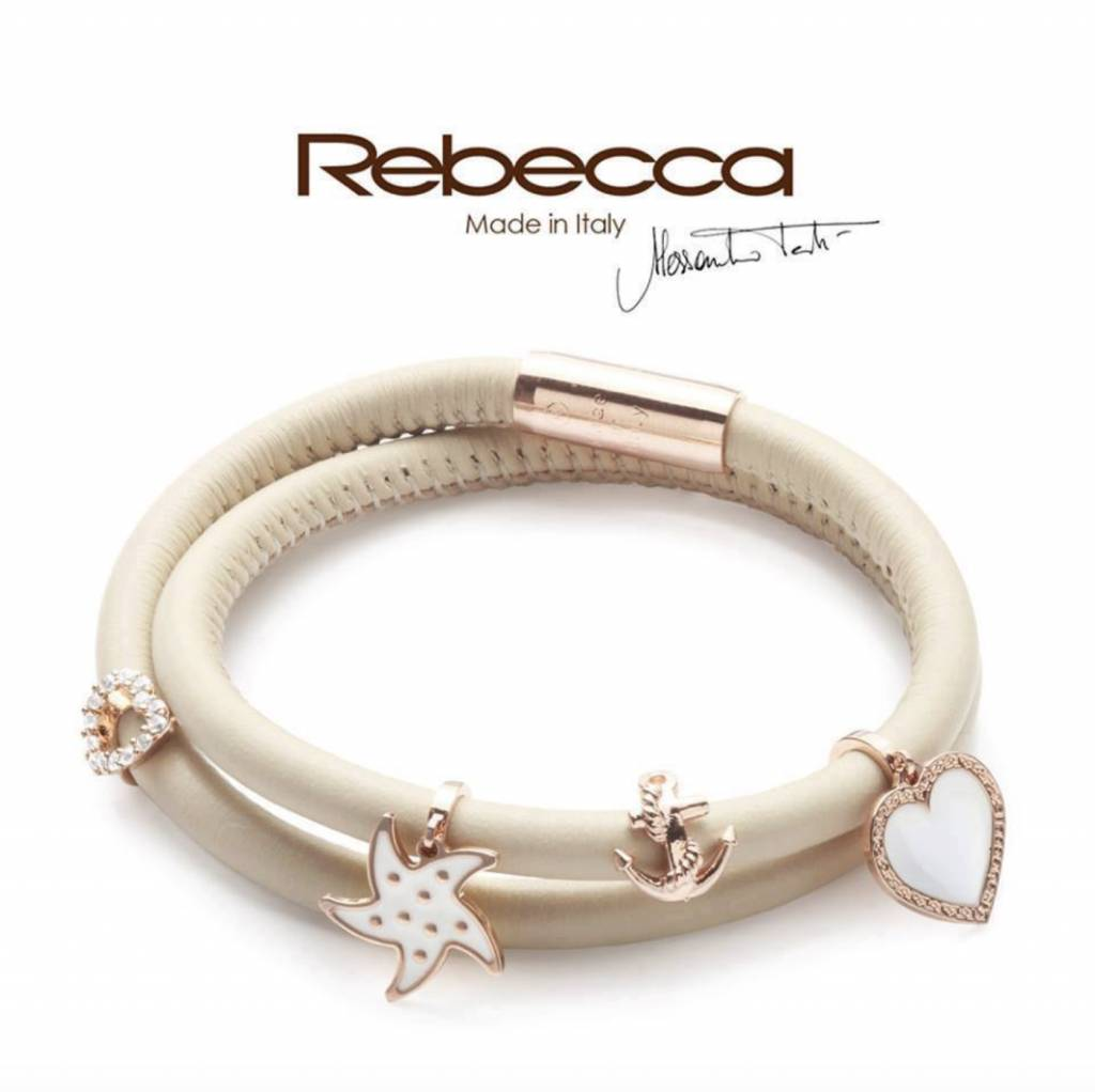 Rebecca Gold Anchor Charm