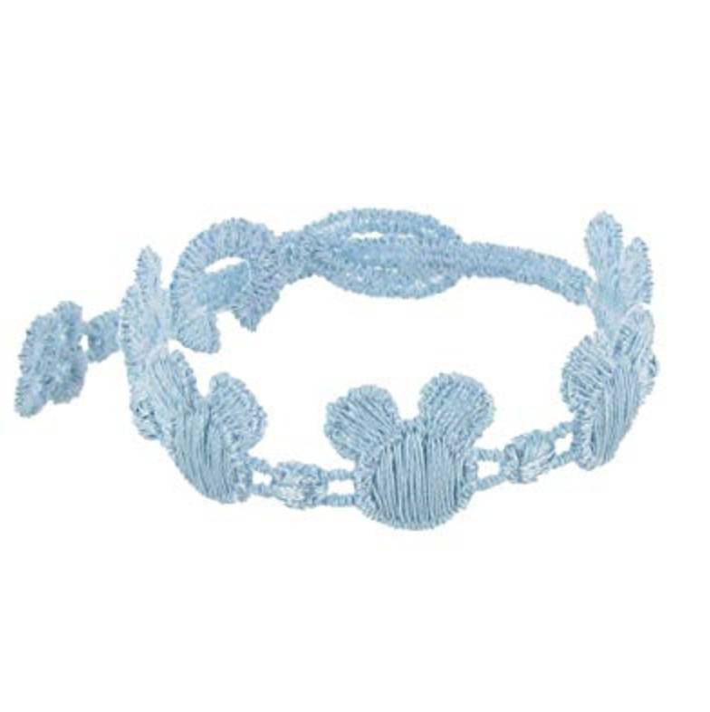 Cruciani Sky Blue Kids Mickey Mouse Bracelet
