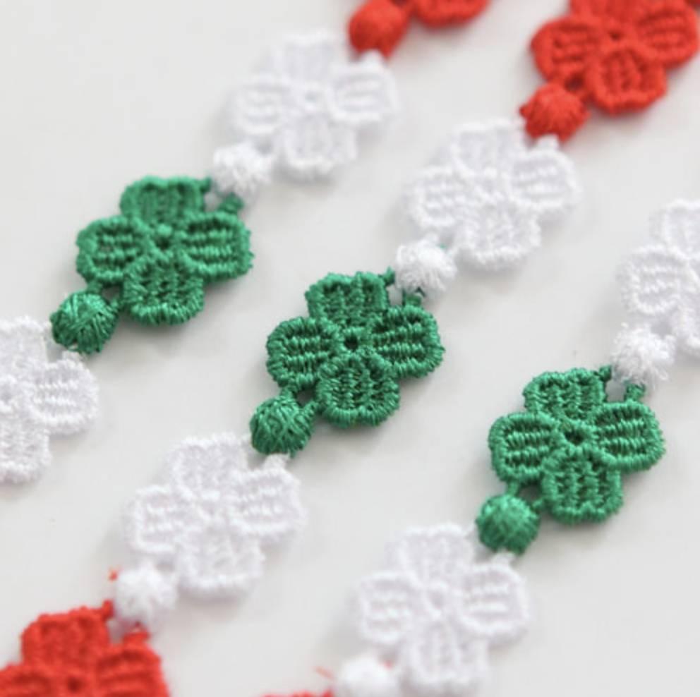 Cruciani Italian Flag Bracelet